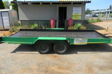 Car / Flat Bed Trailer. Capacity – 2 Ton